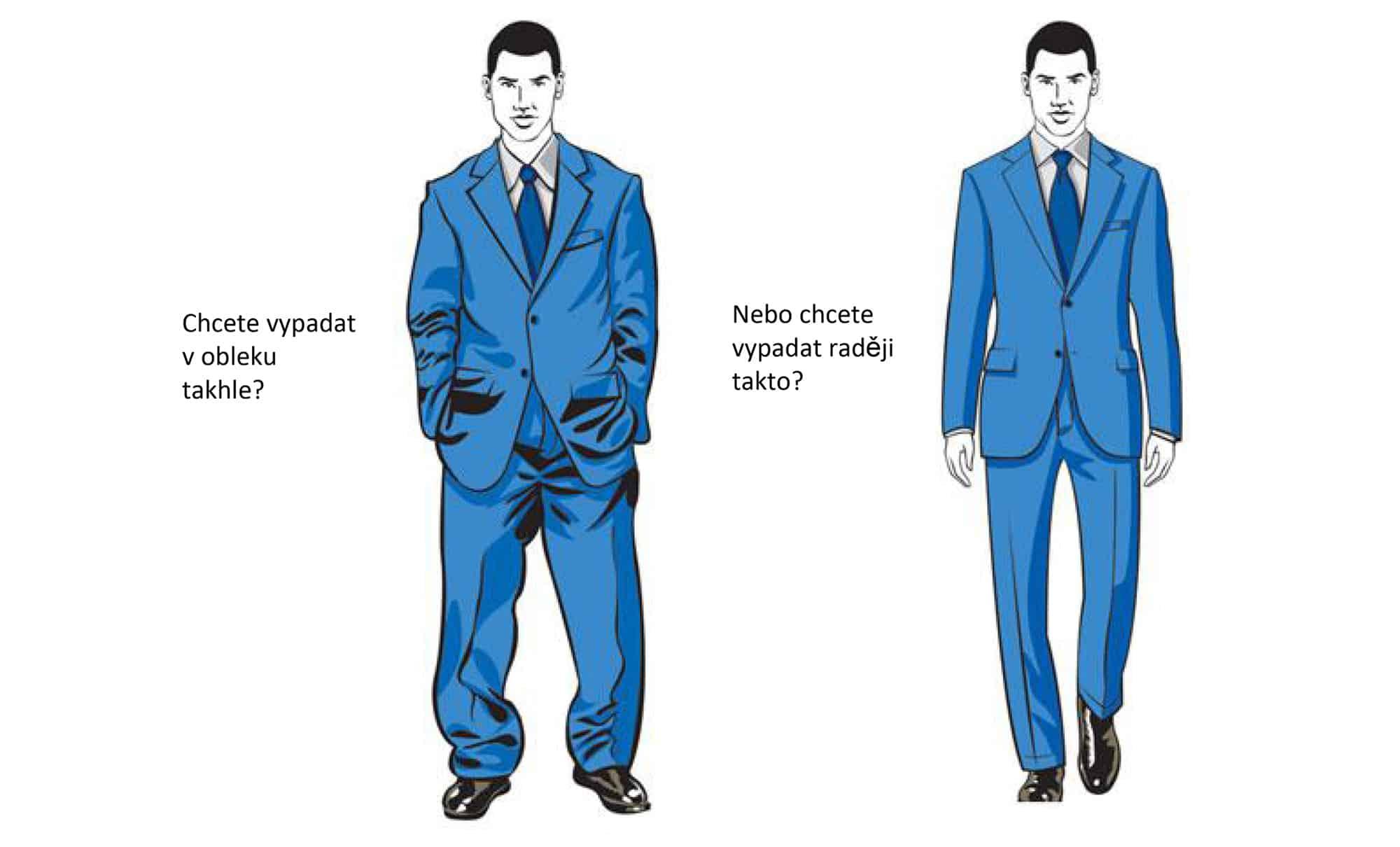 424663e06a64 Vybrat správně pánský oblek není žádná sranda