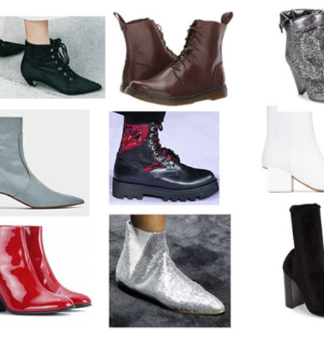 Kotníkové boty podzimu 2017