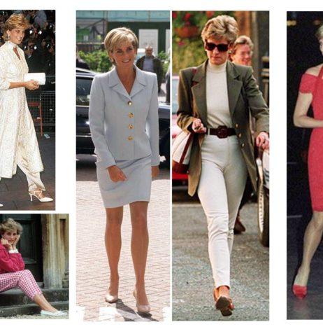 Princezna Diana – ikona stylu
