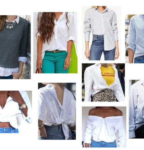 Jak nosit bílou košili