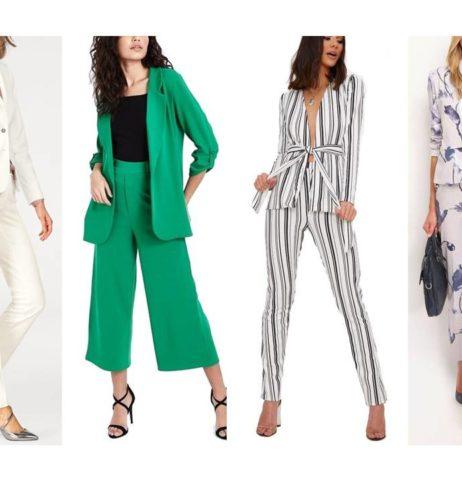 Módní trend jara 2018-kalhotový kostým