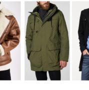 Nejlepší zimní kabáty a bundy pro muže