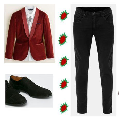 muži-jak se obléci na vánoční večírek