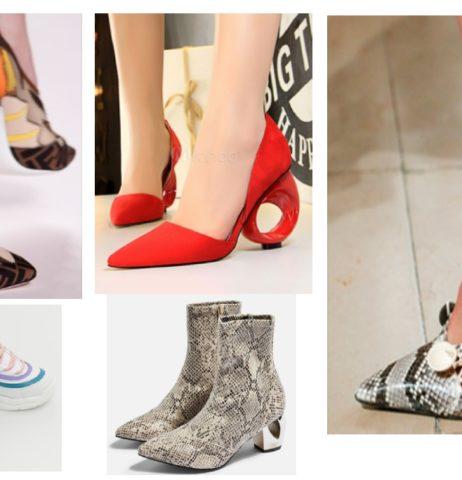 Největší trendy obuvi jaro/léto 2019